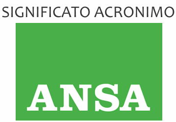 Significato acronimo ANSA