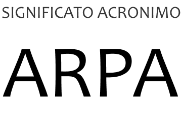 Significato acronimo ARPA