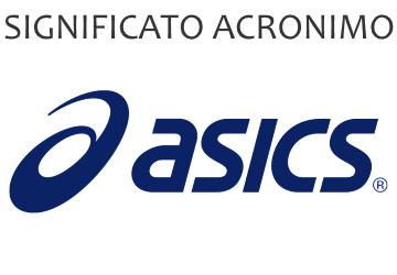 Significato acronimo ASICS