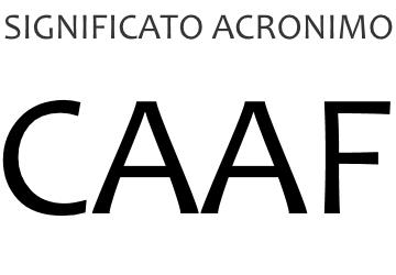 Significato acronimo CAAF