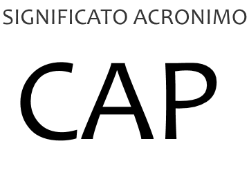 Significato acronimo CAP