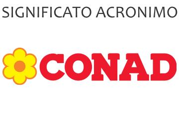 Significato acronimo CONAD