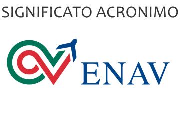 Significato acronimo ENAV