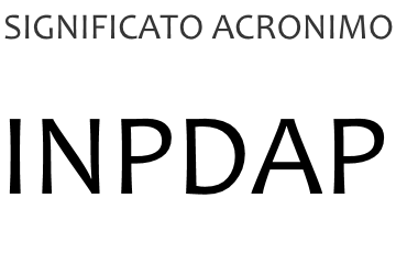 Significato acronimo INPDAP