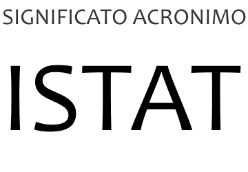 Significato acronimo ISTAT