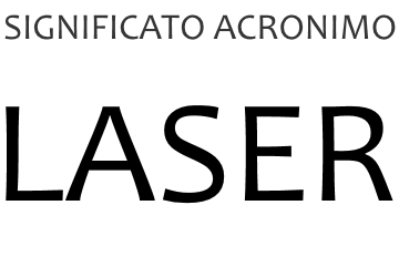 Significato acronimo LASER