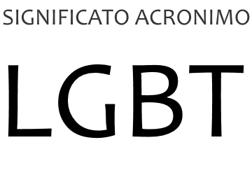 Significato acronimo LGBT