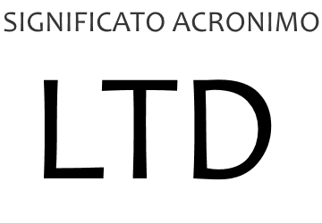 Significato acronimo LTD