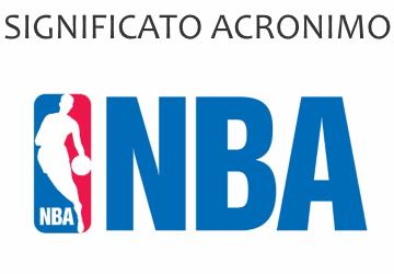 Significato acronimo NBA