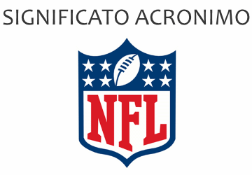 Significato acronimo NFL