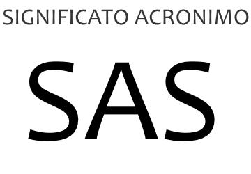 Significato acronimo SAS