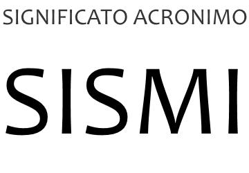 Significato acronimo SISMI
