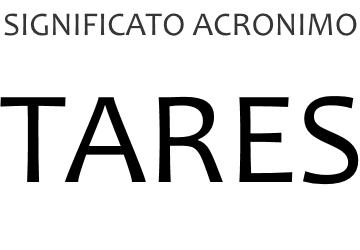 Significato acronimo TARES