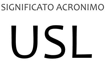 Significato acronimo USL