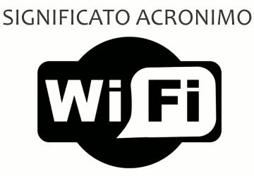 Significato acronimo WIFI