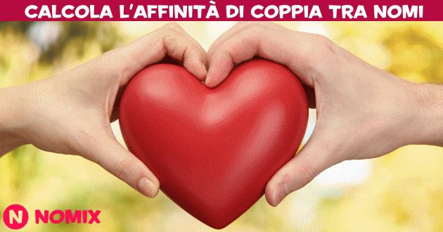 Affinit di coppia affinit con i nomi for Nomi dei politici italiani