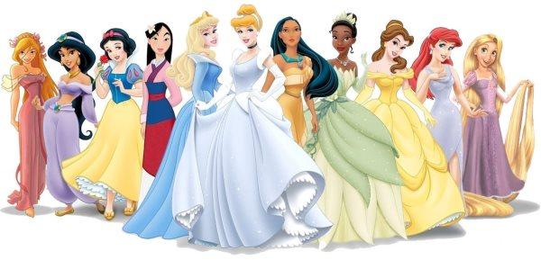Nomi Delle Principesse Disney