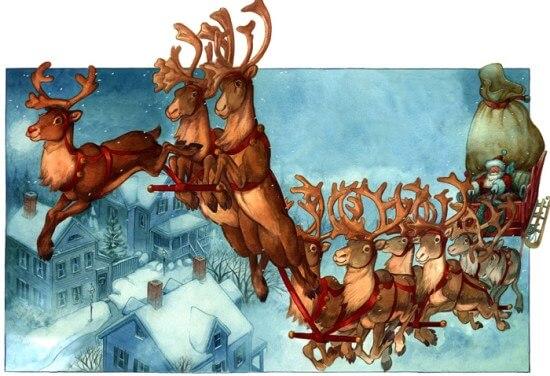 I Nomi Delle Renne Di Babbo Natale
