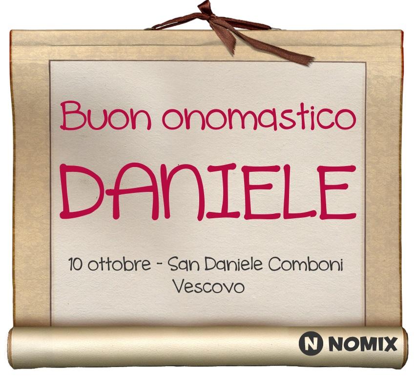 Onomastico Del Nome Daniele