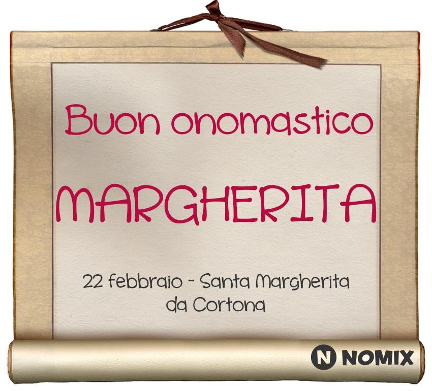 Santa Greta Calendario.Onomastico Del Nome Margherita