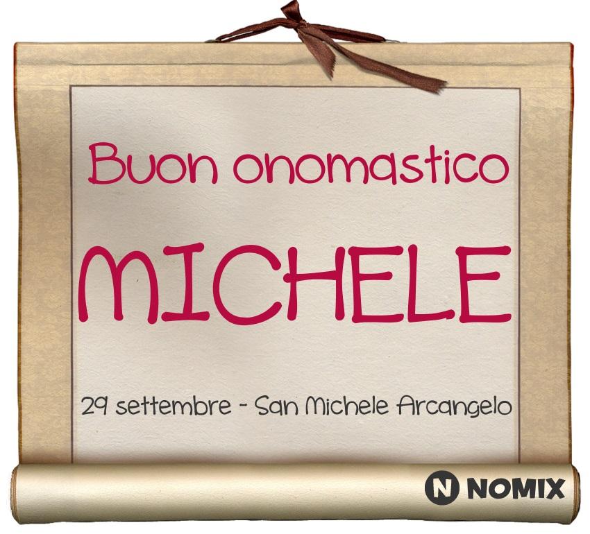 San Michele Data Calendario.Onomastico Del Nome Michele