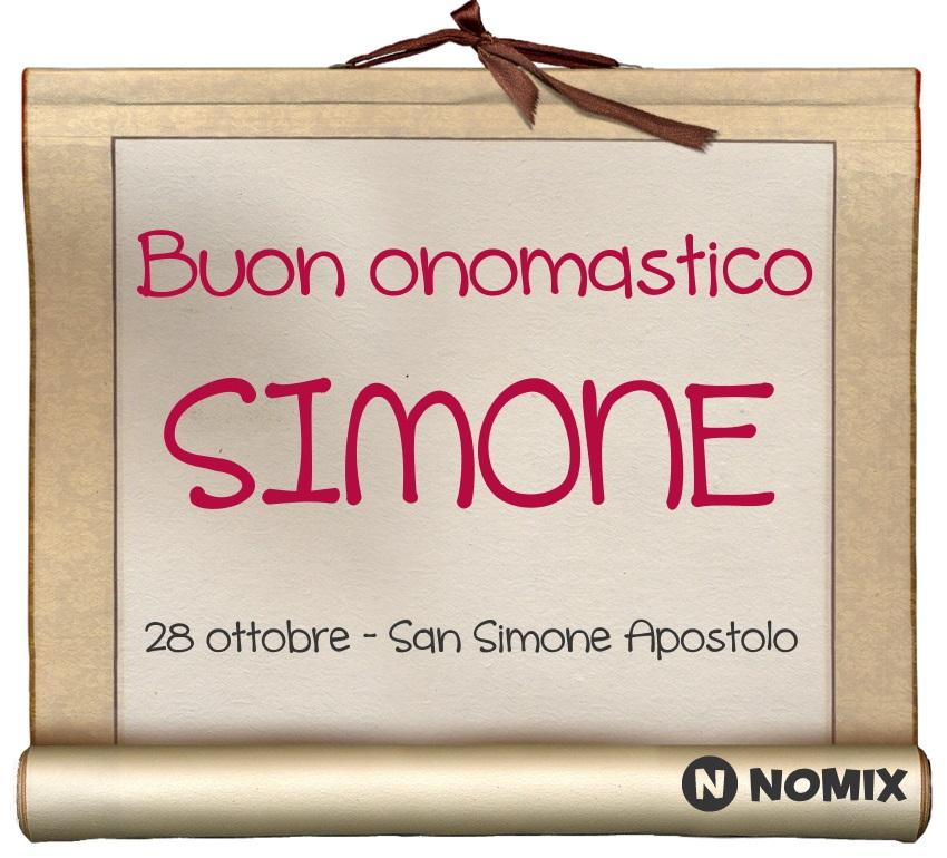 San Simone Calendario.Onomastico Del Nome Simone