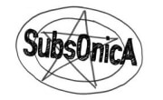 Logo Subsonica